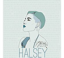 Blue Halsey Photographic Print