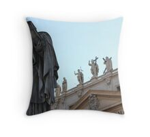 Sentinels of St Peters Throw Pillow