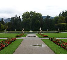 Welcome to Hellbrunn Photographic Print