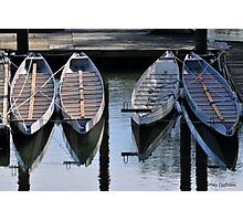 Boats Awaiting for You Photographic Print