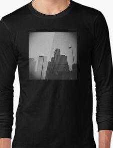 Downtown Double Exposure Long Sleeve T-Shirt