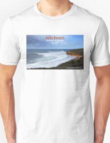 Bells Beach - Victoria, Australia. Classic surf lineup T-Shirt
