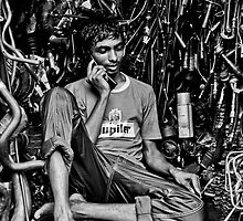 Life in a Machine Cubicle by Zabir Hasan