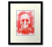 Blood And Bone Framed Print