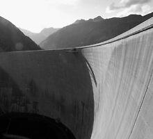 Malta dam - Austria by Diego Rossi