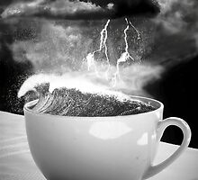 Storm in a teacup by Mark Johnson