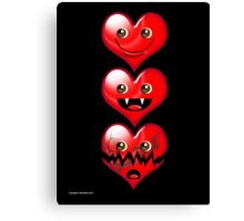 LOVEX3 Canvas Print
