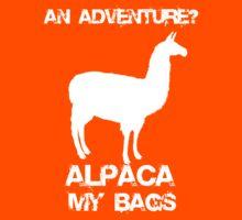 An Adventure? Alpaca My Bags. Kids Clothes