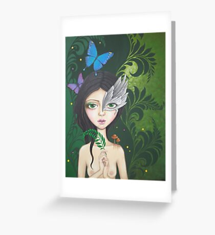 Lush Green Greeting Card