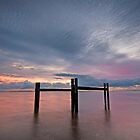 Daybreak at Wynnum - Qld Australia by Beth  Wode
