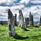 Callanish (Calanais) Standing Stones by Colin Metcalf