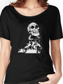 BigHeadSkullKid Women's Relaxed Fit T-Shirt