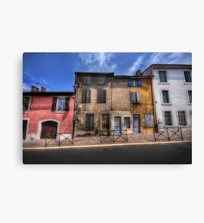 Dwellings of Carcassonne Canvas Print