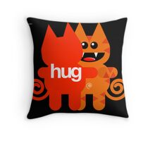 KAT HUG Throw Pillow