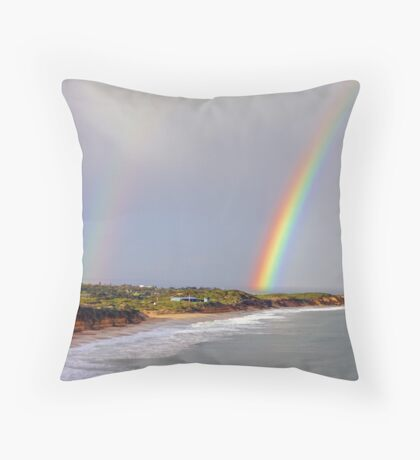 Gold at Jan Juc Throw Pillow