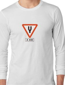 Tuning Fork - Music Tee Long Sleeve T-Shirt