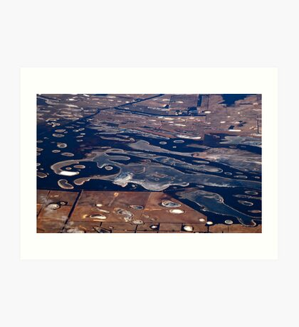 Forms of the Land Outback Art Print