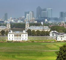 Greenwich View by John Hare