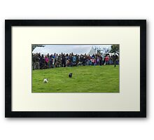 The Moment Of Truth Framed Print