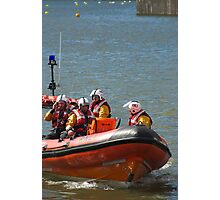 RNLI rescue lifeboat Photographic Print