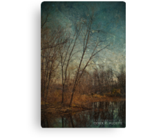 Barren Trees Near the End of Winter Canvas Print