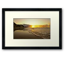 """""""The suns almost gone"""" Framed Print"""