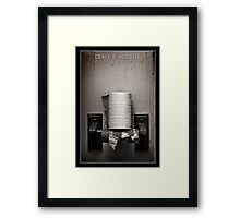 A Simple Necessity Framed Print