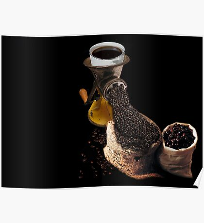 Ground Coffee Poster