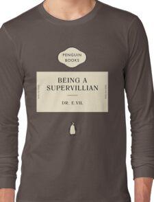 Penguin Classic SuperVillian Book Long Sleeve T-Shirt
