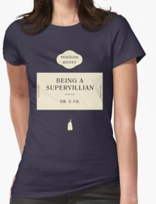 Penguin Classic SuperVillian Book Womens Fitted T-Shirt