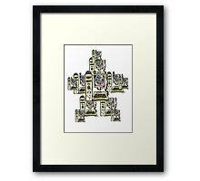 Too Cute PC Network Framed Print