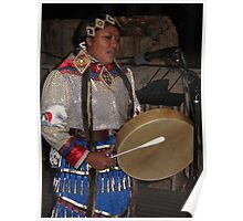 jingle dancer drums Poster