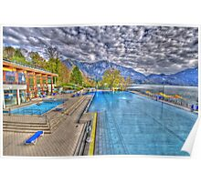 HDR - Spa on the mountains Poster