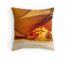 Counting Heartbeats Throw Pillow
