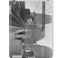 First cars and trains across Sydney Harbour Bridge, March 1932 iPad Case/Skin