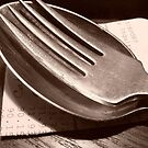 Spoon and Fork by Timothy Wilkendorf