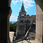 Budapest, Hungary, Fisher's Bastion, 2011, August by ambrusz