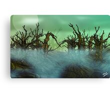 Twisty Forest Canvas Print
