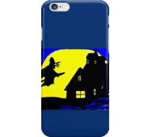 FATIMA THE HALLOWEEN FLYING WITCH iPhone Case/Skin