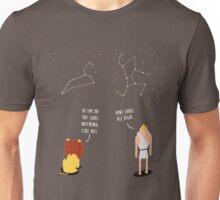 Awkward Constellations Unisex T-Shirt