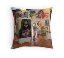 What is art and what is reality? Que es arte que es realidad? Throw Pillow