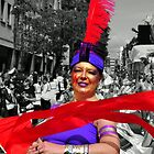 Scarlet Ribbon - Nottinghill Carnival by Victoria limerick