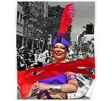 Scarlet Ribbon - Nottinghill Carnival Poster