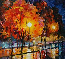 ROMANTIC TIME - AFREMOV by Leonid  Afremov