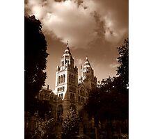Natural History Museum, London Photographic Print