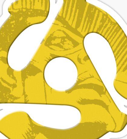 Seven Inch Superhero v.2 Sticker