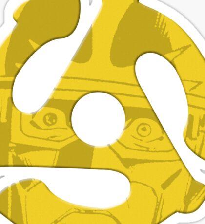 Seven Inch Superhero v.3 Sticker