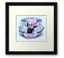 My Sexuality is Monster Girls Framed Print