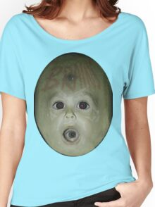 Alien Baby Brains Tee Women's Relaxed Fit T-Shirt