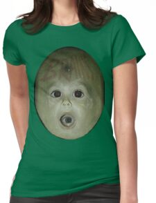 Alien Baby Brains Tee Womens Fitted T-Shirt